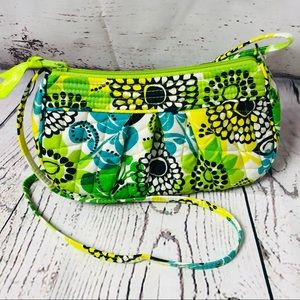 Vera Bradley Frannie Small Quilted Bag Lime's Up